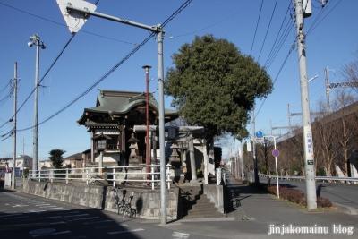 稲荷神社(上尾市原市中)1