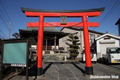 日枝神社(上尾市原市)1