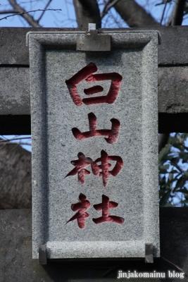 白山神社(上尾市原市)3
