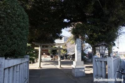 瓦葺氷川神社(上尾市瓦葺)1