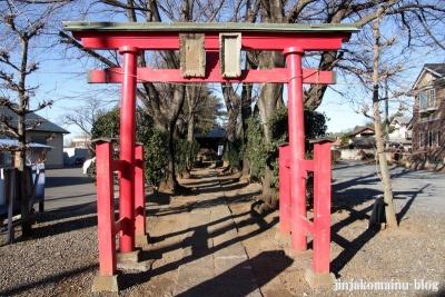 稲荷神社(上尾市瓦葺)2