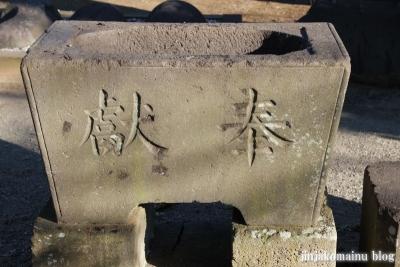 稲荷神社(上尾市瓦葺)6