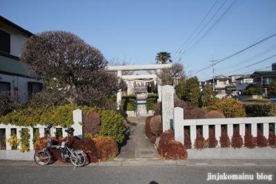 雷電社(春日部市粕壁)1