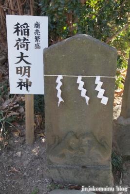 女体神社(春日部市梅田)15