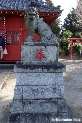 女体神社(春日部市梅田)19