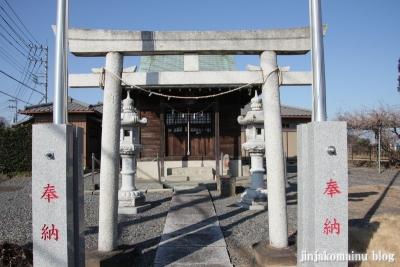 稲荷神社(春日部市内牧)2