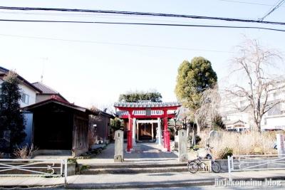 稲荷神社(春日部市上蛭田)1