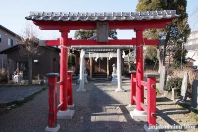 稲荷神社(春日部市上蛭田)2