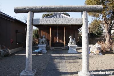 稲荷神社(春日部市上蛭田)5