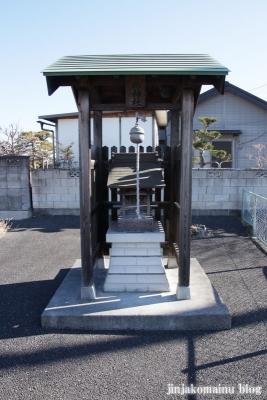 淡島神社(春日部市藤塚)1