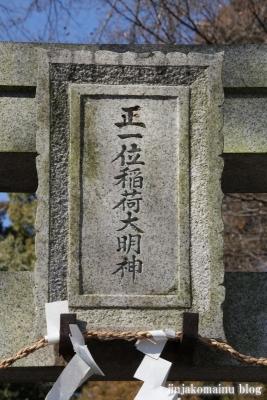 稲荷神社(春日部市備後西)4