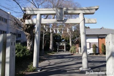 稲荷神社(春日部市備後西)1