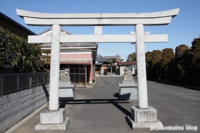 中野神社(春日部市武里中野)1