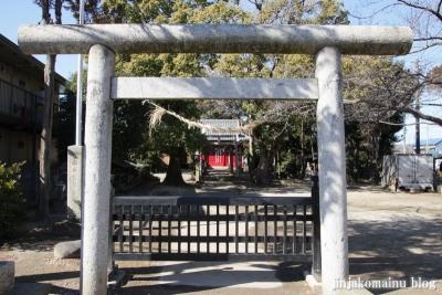 香取神社(春日部市大場)2