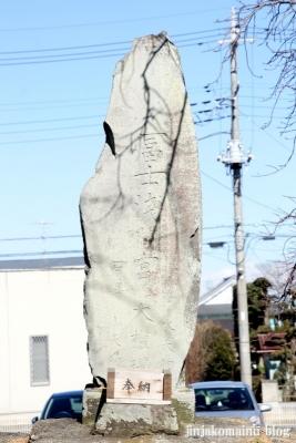 雷電神社(春日部市備後東)11