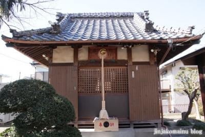 女帝神社(越谷市平方)6