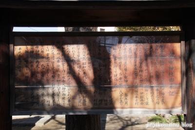 女帝神社(越谷市平方)14