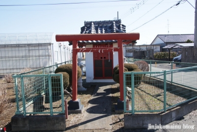 稲荷神社(越谷市平方)1