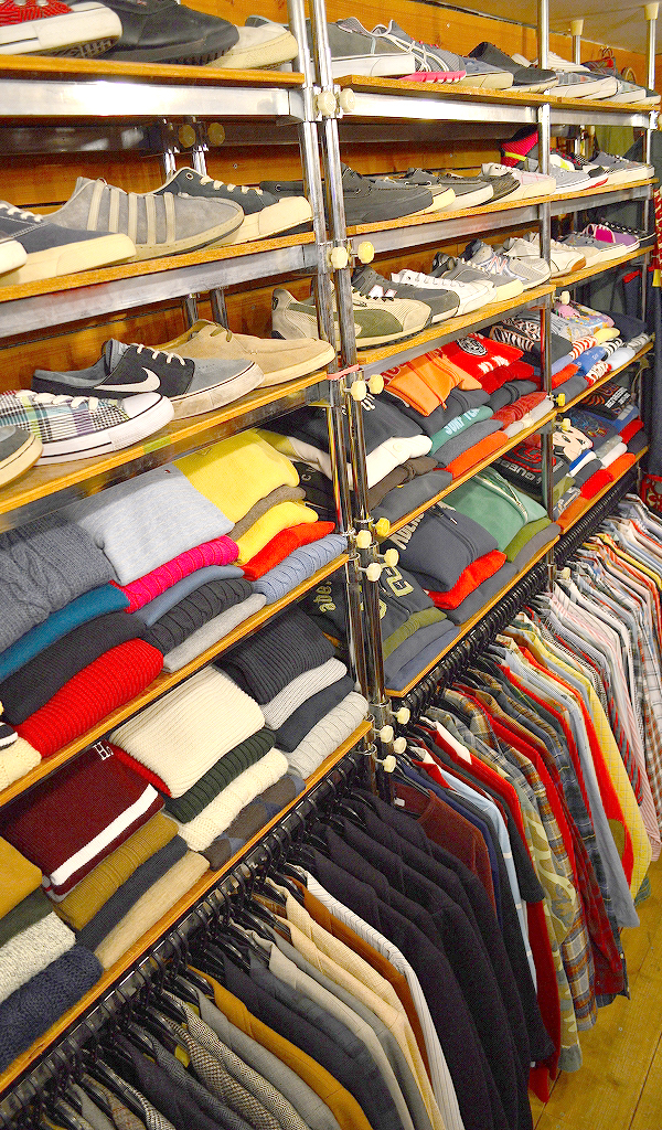 Used Clothing Shop古着屋カチカチ店内画像05
