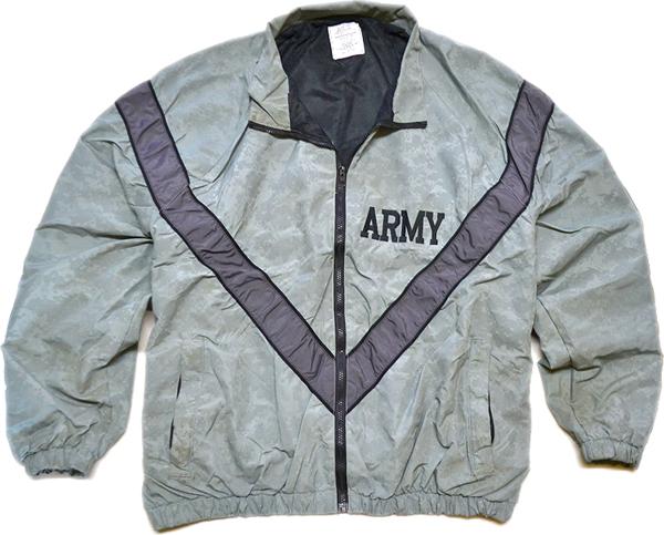 ARMYナイロンブルゾンミリタリージャケット画像@古着屋カチカチ02