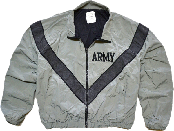 ARMYナイロンブルゾンミリタリージャケット画像@古着屋カチカチ06