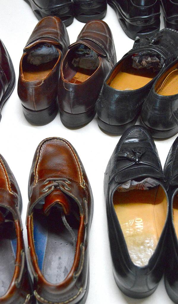 革靴レザーシューズ画像メンズコーデ@古着屋カチカチ06
