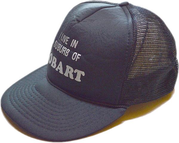 Black Capsブラックキャップ黒帽子@古着屋カチカチ01