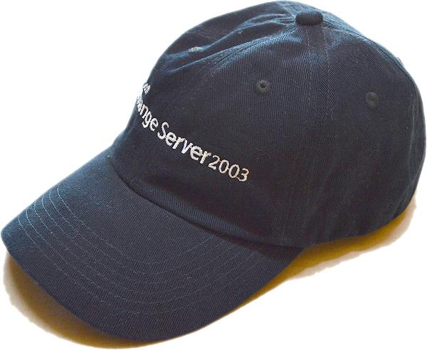 Black Capsブラックキャップ黒帽子@古着屋カチカチ010