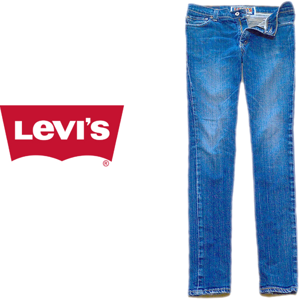 Levis Used Jeansリーバイスジーンズ画像コーデ@古着屋カチカチ02