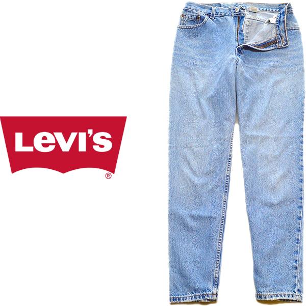 Levis Used Jeansリーバイスジーンズ画像コーデ@古着屋カチカチ05