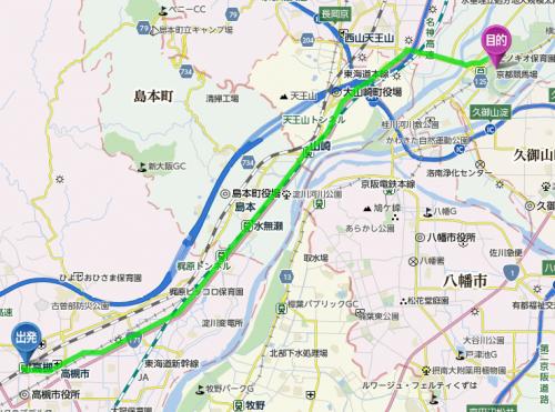 【競馬】高槻に住んでるんだけど京都競馬場までチャリで行きたい
