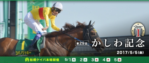 【競馬予想】第29回かしわ記念(JpnⅠ) 船橋・ダート1600m