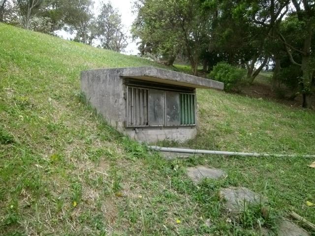 海軍壕出入り口 (5)