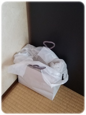 紙袋で作る即席ゴミ箱