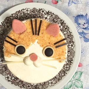 にゃらんケーキ