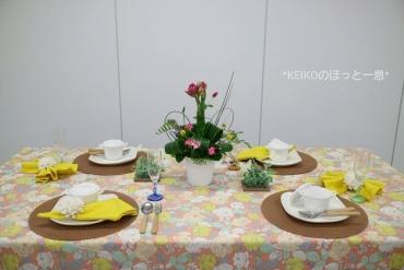 春爛漫なテーブルコーディネート