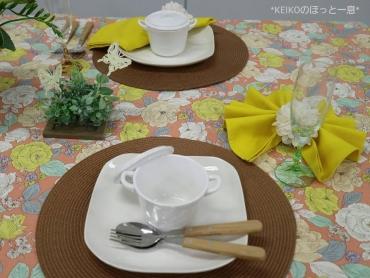 春爛漫なテーブルコーディネート3