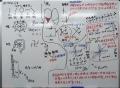 授業の白板1