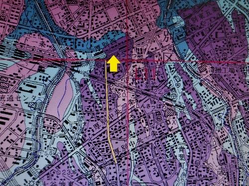 札幌及び周辺部地盤地質図 厚別駅周辺