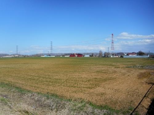 屯田町 Y牧場 遠景