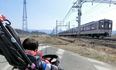 帰り道・電車
