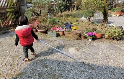 長柄草削り (2)