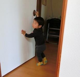 ドア開けできた