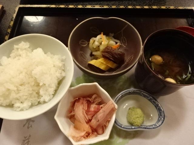 三養荘 夕食3