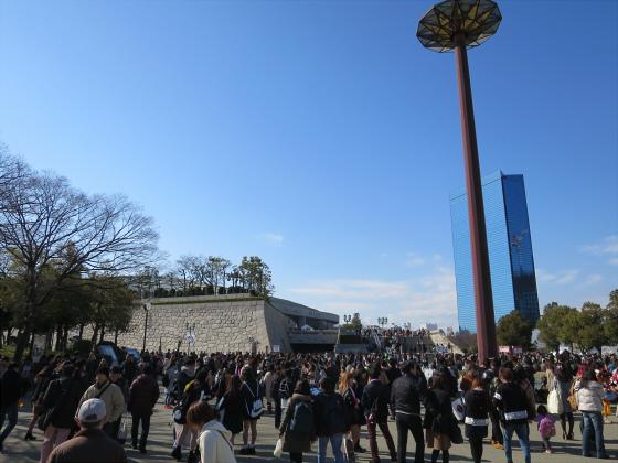 大阪城公園梅林2017-03