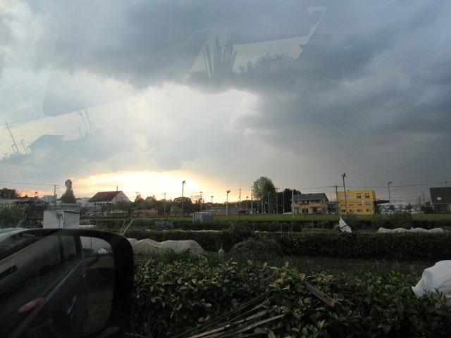 天気が急変