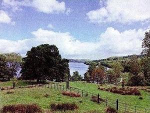 湖水地方の風景