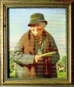 「ビアトリクス・ポターの晩年の肖像画」