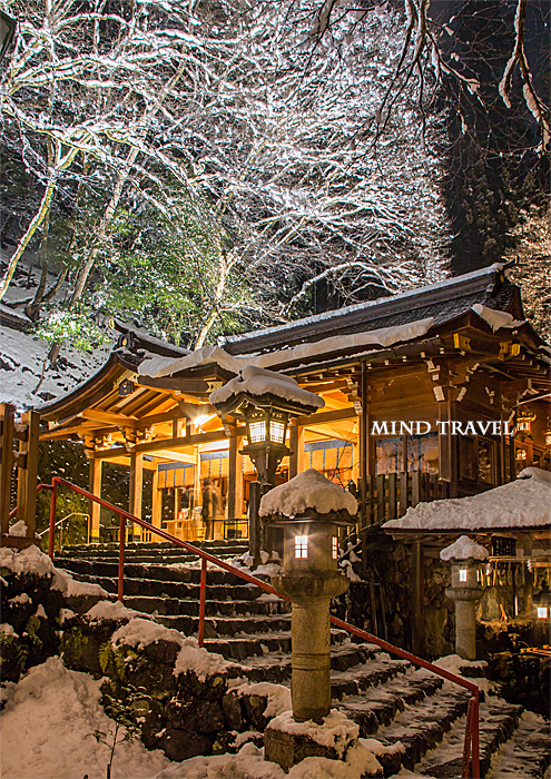 貴船神社 雪4