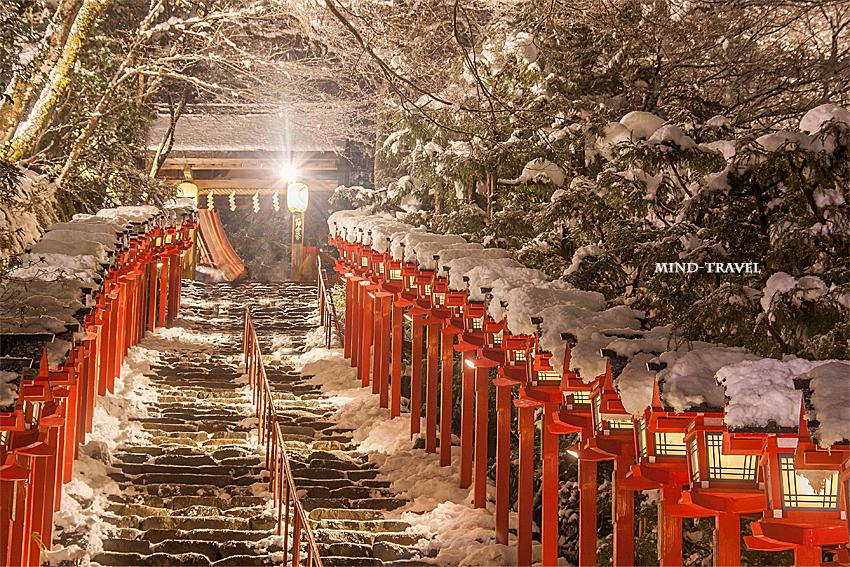 貴船神社 雪2